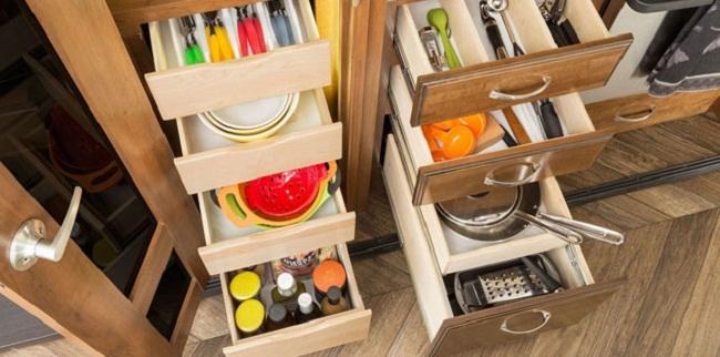 5 công năng tủ bếp dưới cần có