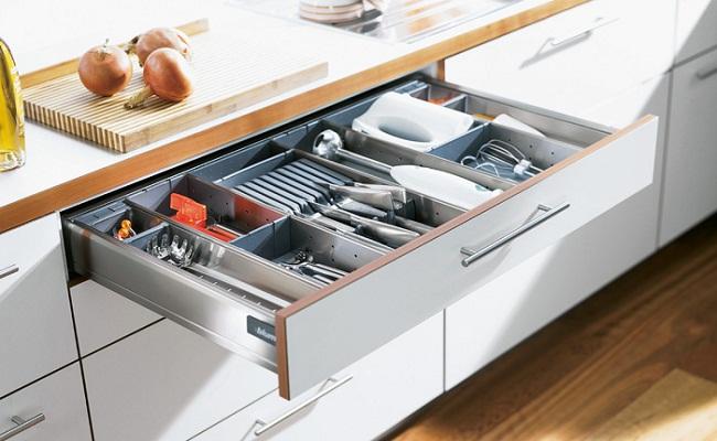 5 công năng tủ bếp dưới cần phải có