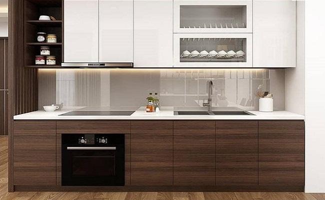 Báo giá tủ bếp gỗ công nghiệp HDF