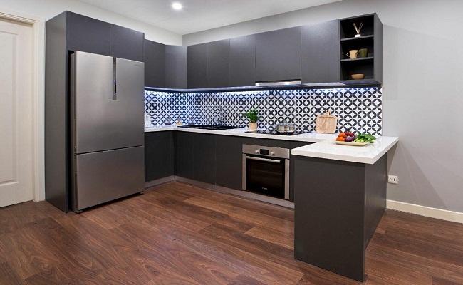 Báo giá tủ bếp HDF