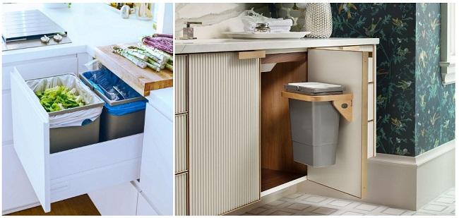Cách bố trí tủ bếp dưới để tiết kiệm diện tích