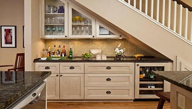 Chọn vị trí lắp đặt tủ bếp dưới tiết kiệm diện tích