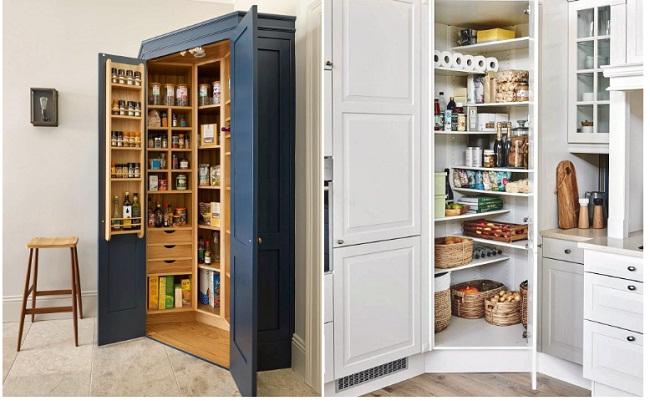 Bố trí tủ bếp dưới tiết kiệm diện tích