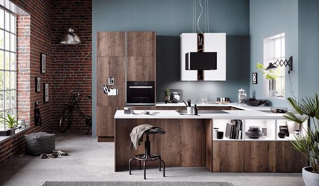 Các kiểu tủ bếp hiện đại thông dụng