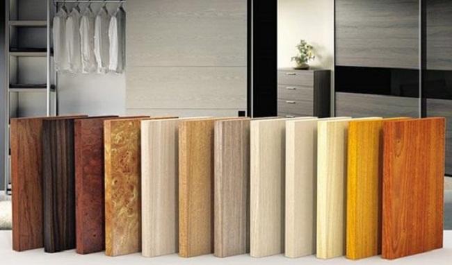 Các loại gỗ công nghiệp làm tủ bếp
