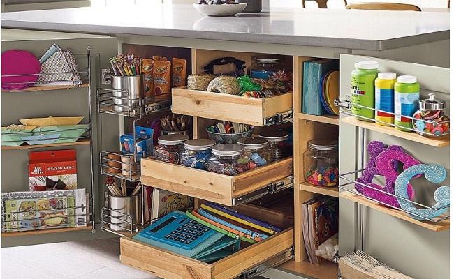 Cách bố trí tủ bếp dưới tiết kiệm diện tích