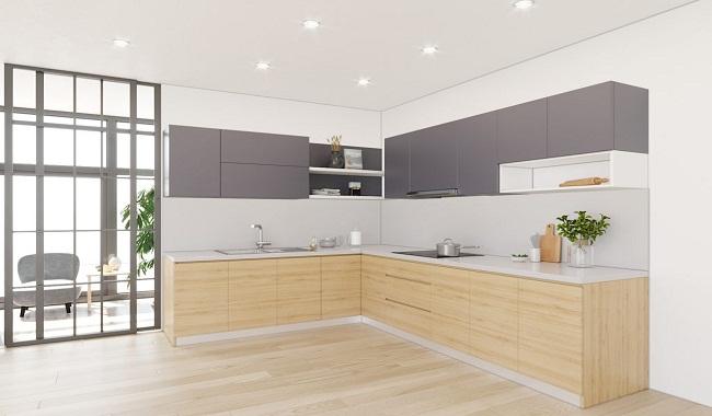 Cách thiết kế tủ bếp đơn giản đảm bảo tiện nghi
