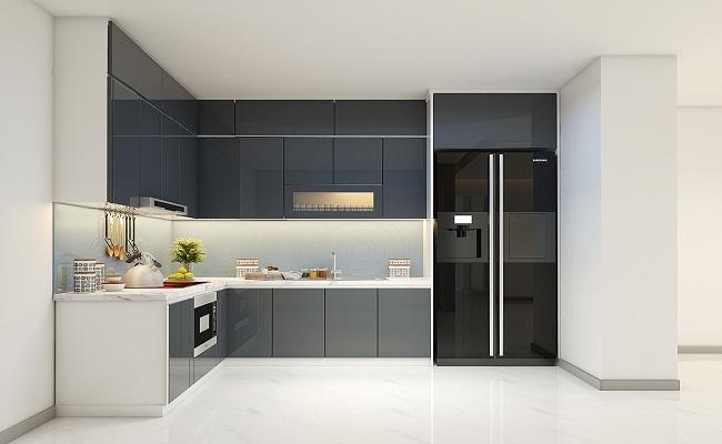 Chiều cao tủ bếp dưới theo phong thủy bao nhiêu?