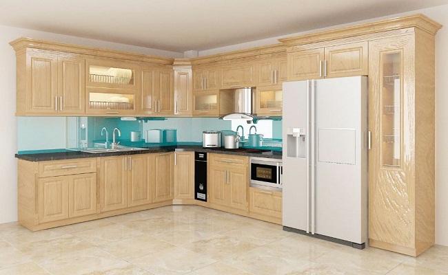 Có nên làm tủ bếp gỗ sồi?