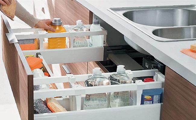 Công năng tủ bếp dưới cần phải có