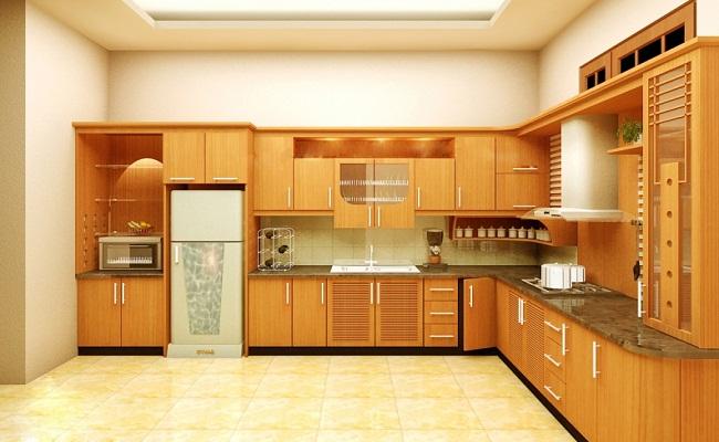 Đặc điểm của tủ bếp chữ L