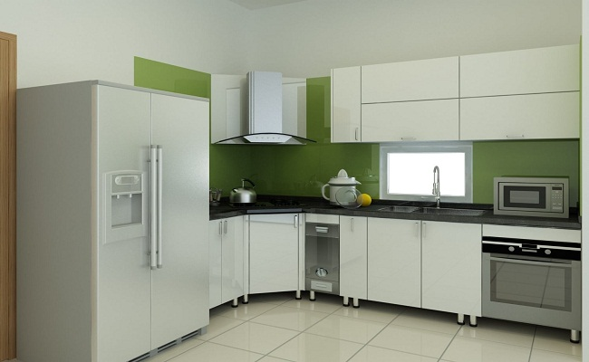 Giá tủ bếp nhựa composite