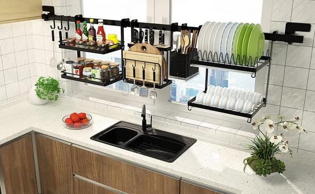 Kệ chén bát cho tủ bếp thông minh