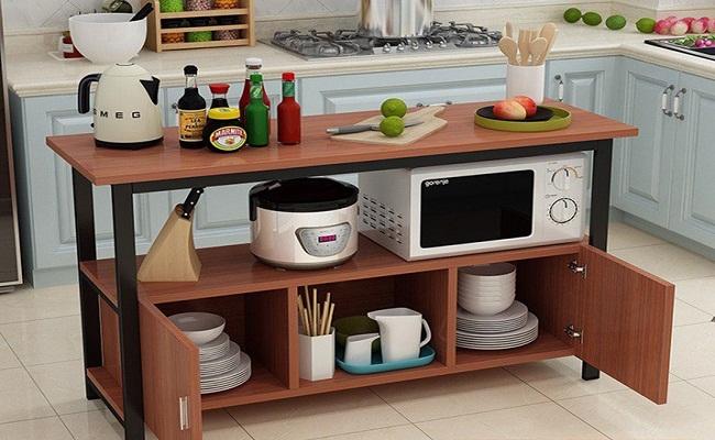 Kệ tủ bếp đơn giản