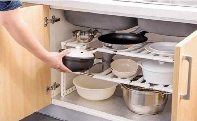 Kệ tủ bếp thông minh đa năng