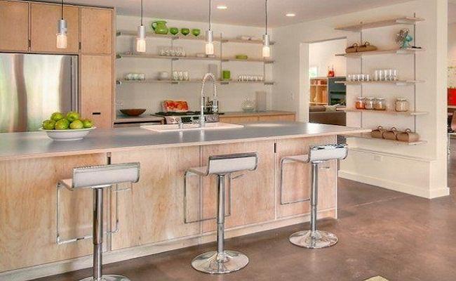 Kệ tủ bếp treo tường bằng gỗ