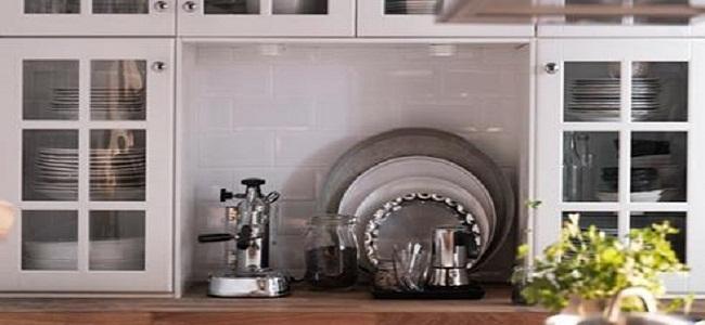 Không gian bếp nhỏ hẹp