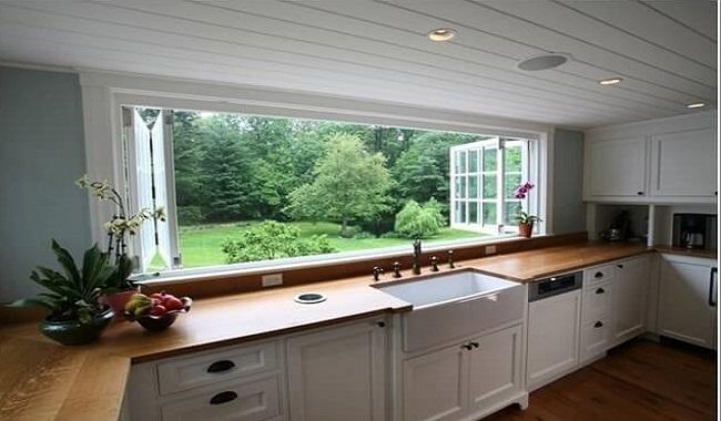 Mẫu cửa sổ nhà bếp đẹp