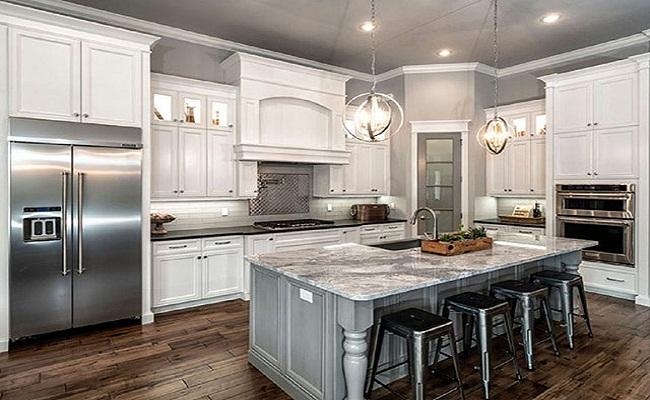 Mẫu nội thất nhà bếp xinh