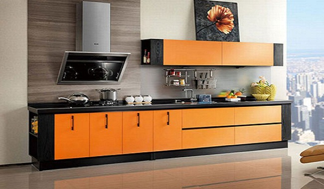 Mẫu nội thất tủ bếp gia đình