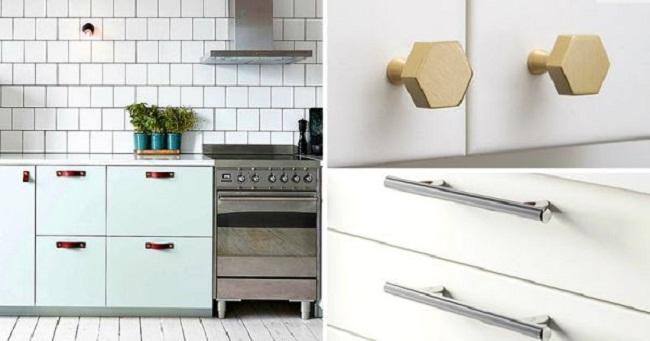 Mẫu tay nắm tủ bếp được ưa thích nhất