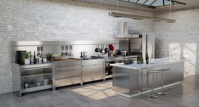 Mẫu thiết kế nhà bếp xinh