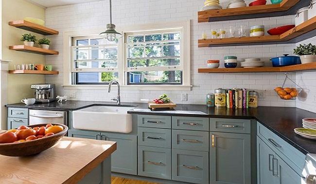 Mẫu thiết kế phòng bếp nhà cấp 4 đẹp
