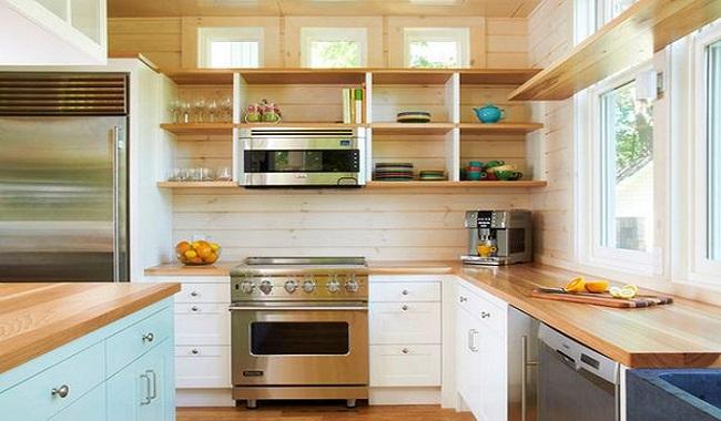 Mẫu thiết kế phòng bếp nhà cấp 4