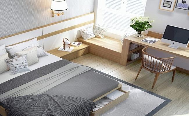 Mẫu thiết kế phòng ngủ nhỏ 6m2