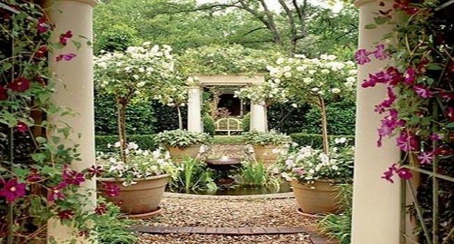 Mẫu thiết kế sân vườn biệt thự