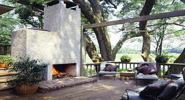 Mẫu thiết kế sân vườn patio phong cách Tây Ban Nha