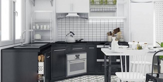 Mẫu tủ bếp dưới đẹp