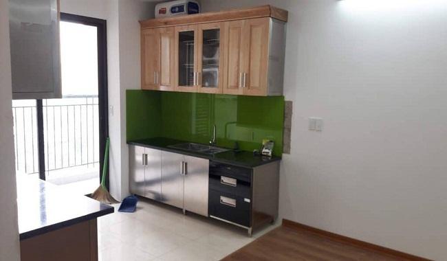 Mẫu tủ bếp nhỏ gọn