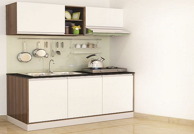 Mẫu tủ bếp nhỏ xinh