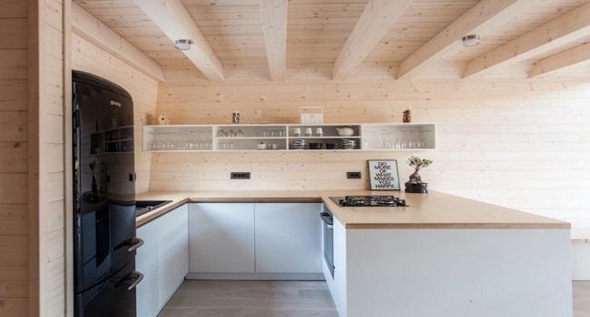 Tủ bếp treo tường nhỏ gọn