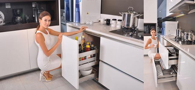 Mẹo lựa chọn thiết bị tủ bếp hiện đại