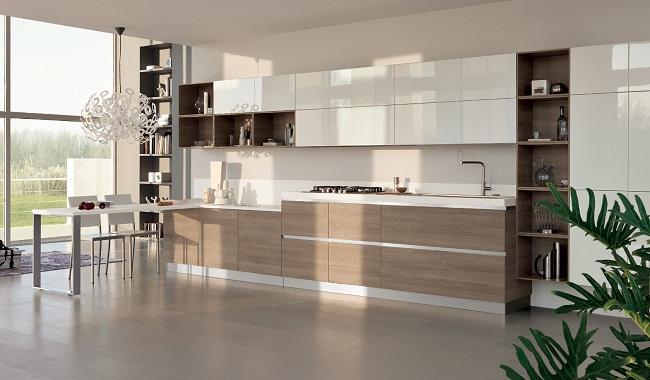 Nên làm tủ bếp bằng chất liệu gì?