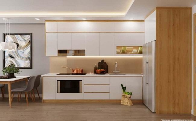 Nên dùng tủ bếp bằng nhựa hay gỗ công nghiệp?