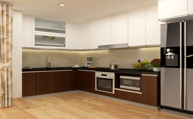 Nên dùng tủ bếp nhựa hay bằng gỗ công nghiệp?