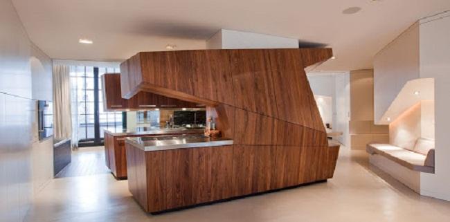 Nên dùng tủ bếp nhựa hay gỗ công nghiệp?