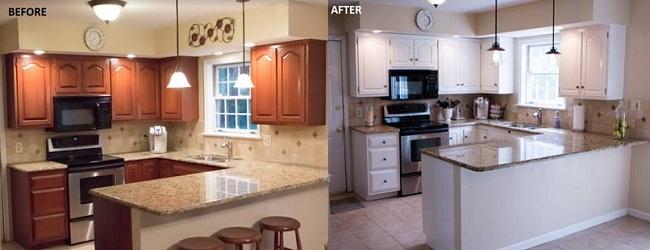 Nên sửa chữa hay thay tủ bếp mới?