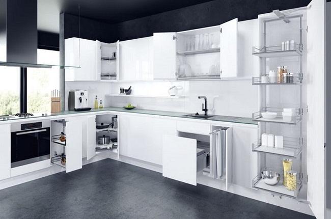 Nội thất tủ bếp căn hộ hiện đại
