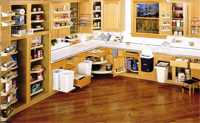 Nội thất tủ bếp gỗ cao cấp
