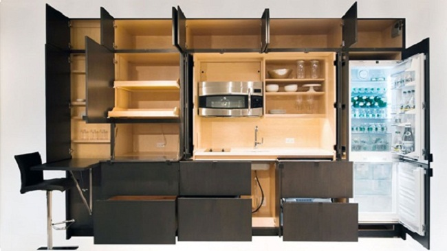 Nội thất tủ bếp theo phong cách hiện đại