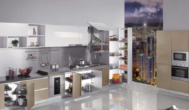 Nội thất tủ bếp inox cao cấp
