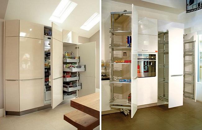 Nội thất tủ bếp liền hiện đại