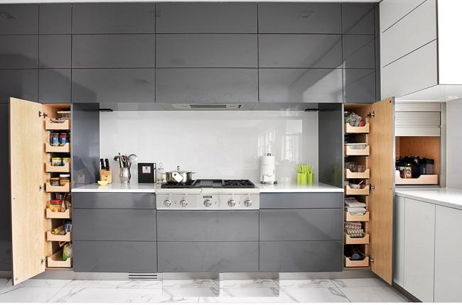 Nội thất tủ bếp thông minh