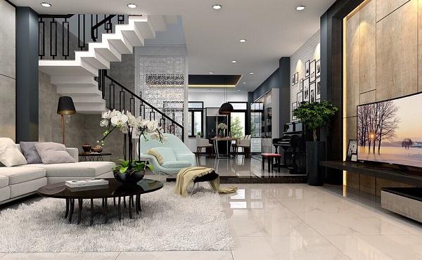 Thiết kế nội thất căn hộ chung cư của cô Loan ở đường Nguyễn Tri Phương