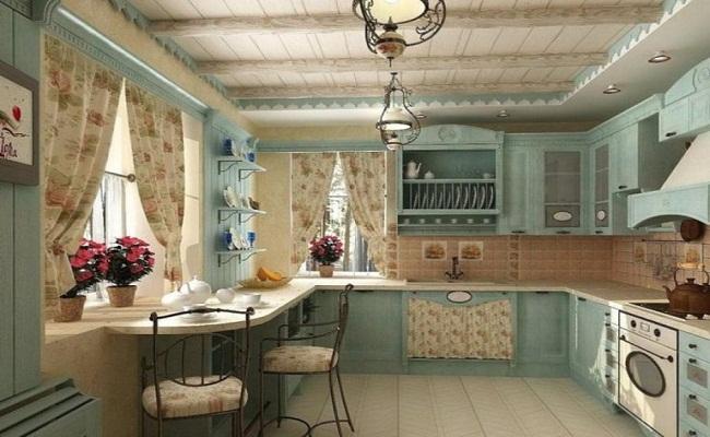 Phong cách thiết kế tủ bếp đồng quê