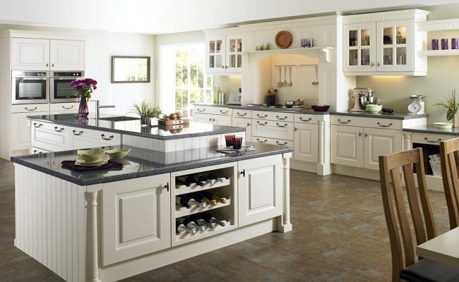 Phong cách thiết kế tủ bếp tân cổ điển